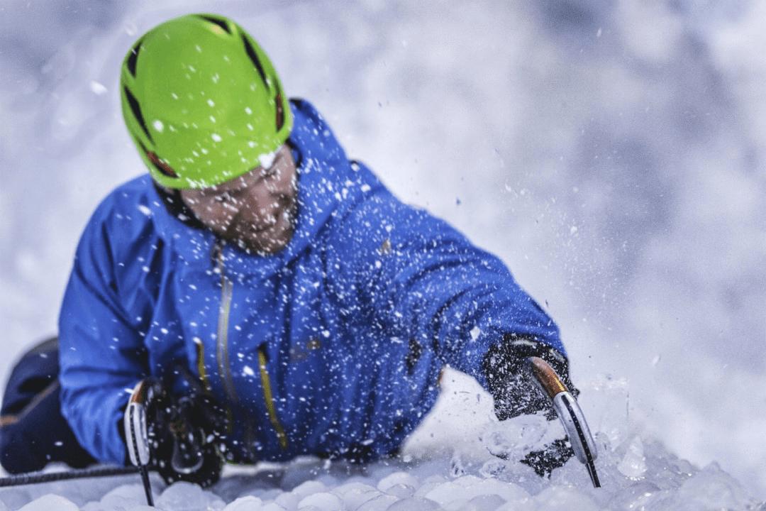 Mantis-PRO ice climbing