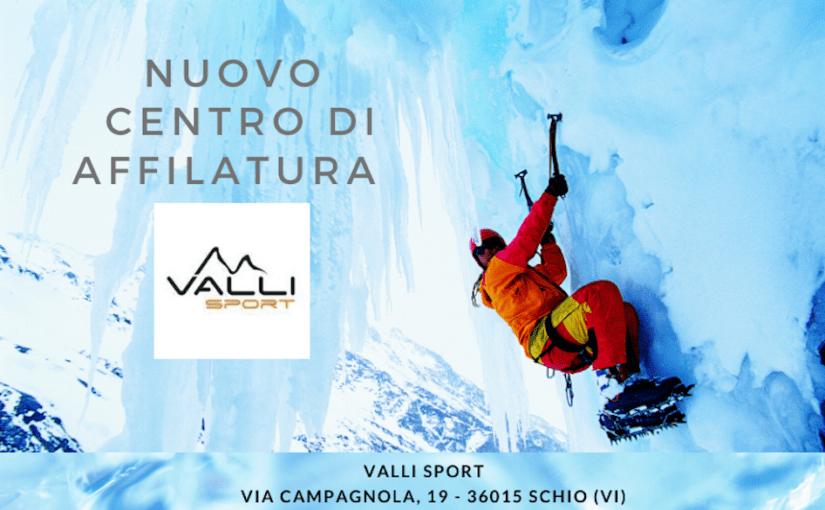 Nuovo centro affilatura – Valli Sport