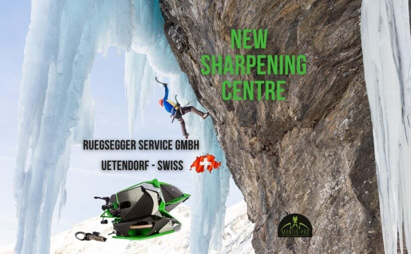A new sharpening centre – Rüegsegger Service Gmbh